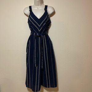 Blue striped - Wide Legged Jumpsuit | Universal